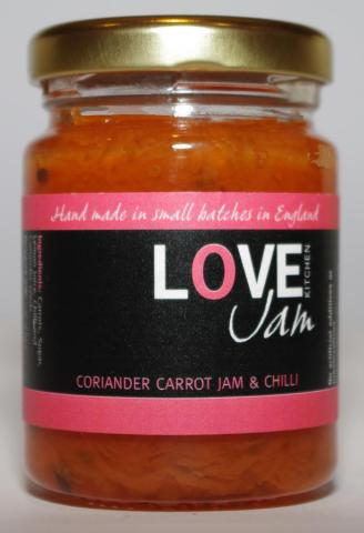 Corriander Carrot Jam & Chilli Jar