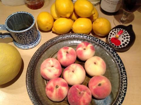 White Peach Jam