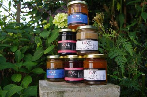 Love Jam Kitchen preserves hand-made jam